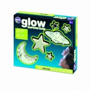 Glow in the dark super stars