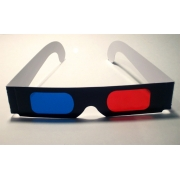3D glasses (red/blue)